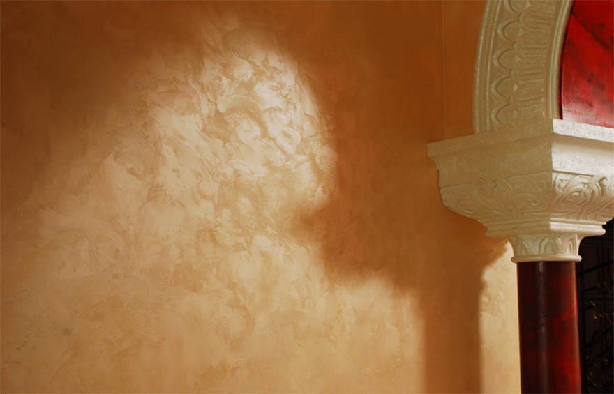 Elite interior design mobili e arredamenti artigianali for Stucco veneziano argento
